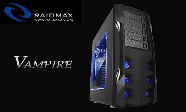 Raidmax Vampire Case Header Raidmax Vampire Gaming Case Review - Great! Tech