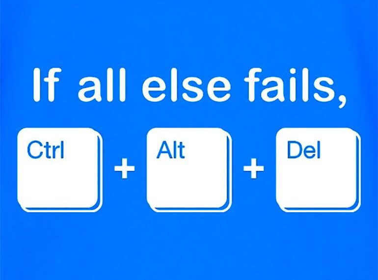 The Interesting History Behind The 3-key Control-Alt-Delete Combination