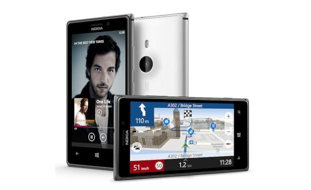 Nokia Lumia 925 - Angles