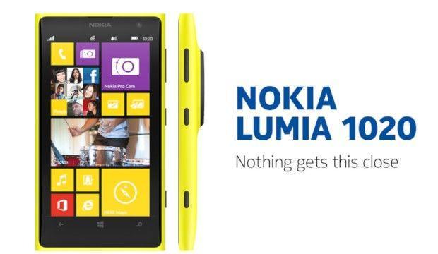 2. Nokia Lumia 1020
