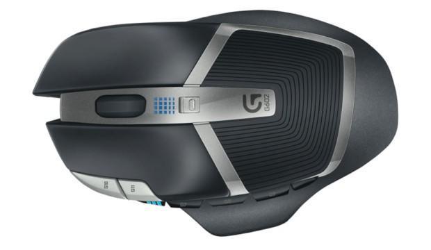 Logitech G602 - Top