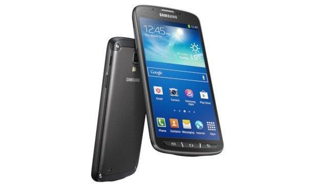 Samsung Galaxy S4 Active - Back and Front