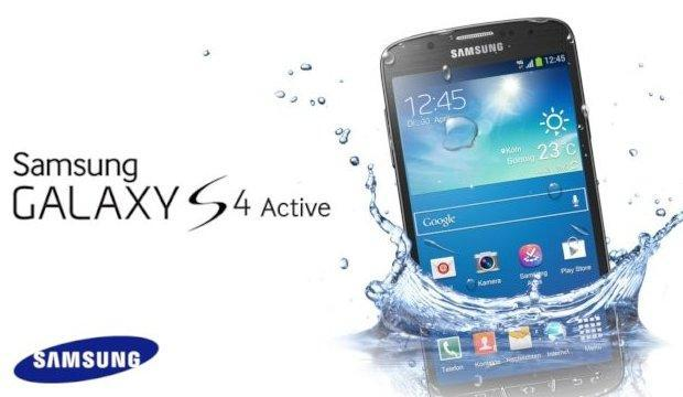 Samsung Galaxy S4 Active - Header