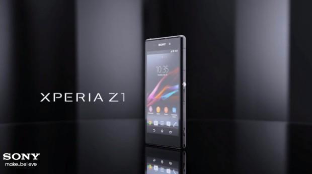 Sony Xperia Z1 - Header