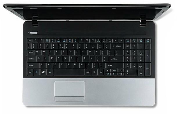 Acer Aspire E1 - Top