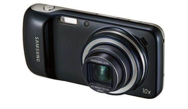 Samsung Galaxy S4 Zoom - Lens