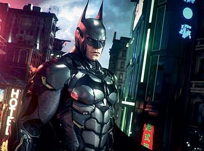 Batman Arkham Knight screenshot Batsuit Robert Pattinson's Batsuit Inspired By '60s Batman And Arkham Games Movies