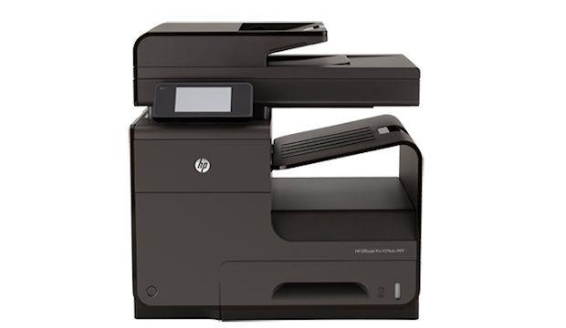 HP OfficeJet Pro x576dw - Side