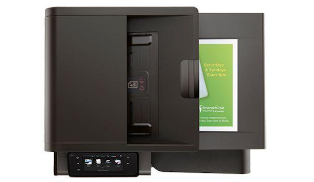 HP OfficeJet Pro x576dw - Top