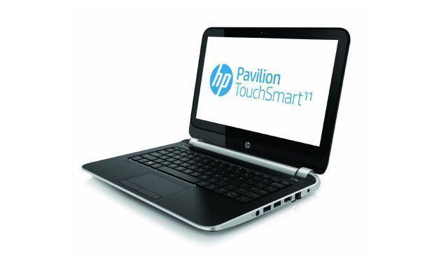 HP Pavilion TouchSmart 11 - Front