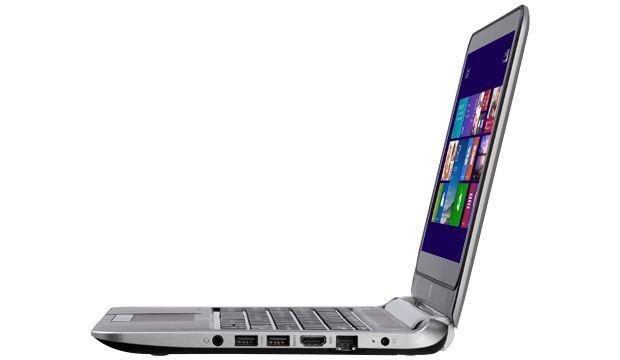 HP Pavilion TouchSmart 11 - Side