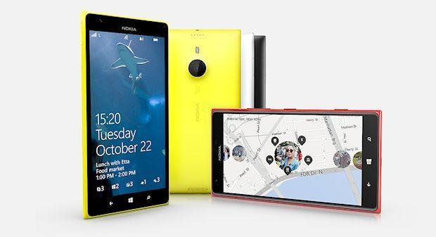 Nokia Lumia 1520 - Angles