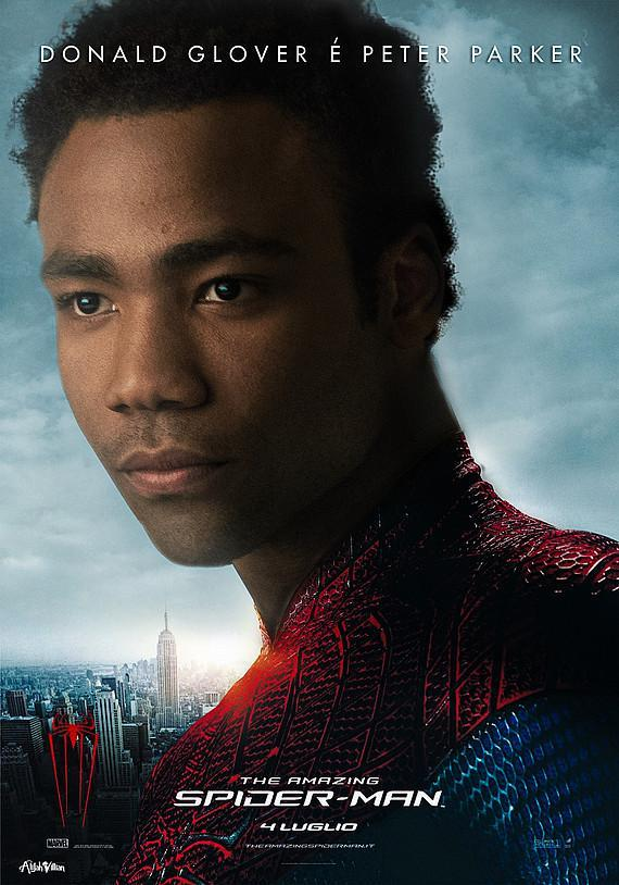 spiderman donald glover black superheros alijah villian black superheroes reimagined film posters full res Is The World Ready For A Black Superman? Film Posters Reimagined with Black Superheroes Movies