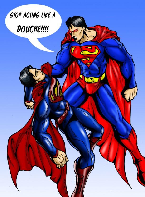 2140797 superman vs superman Captain Superman and Me Comic Books