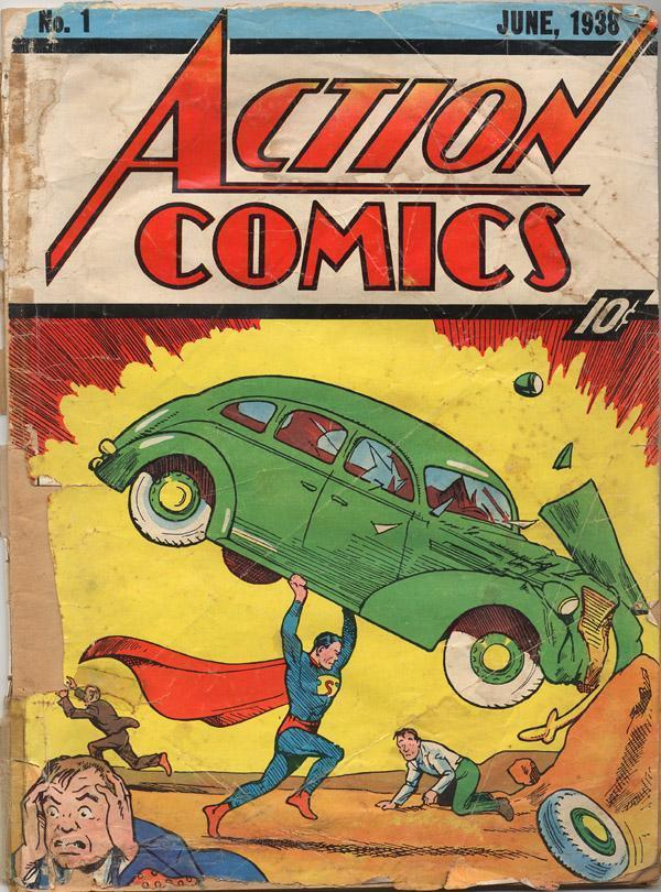 Action1cover The 10 Most Valuable Comic Books In The World Today Comic Books