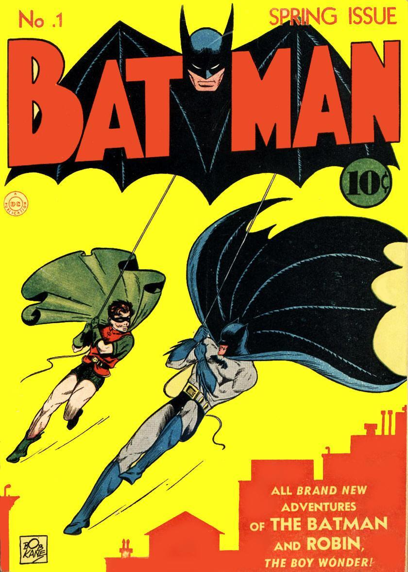 Looking Back At... DC's Batman #1 (1940) - The First Actual Batman-Titled Comic Book