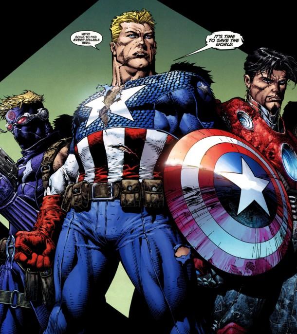 captain america marvel comics 10885455 1734 1951 Captain Superman and Me Comic Books
