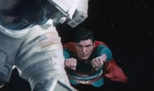 Superman Helps Out in Gravity Deleted Scene
