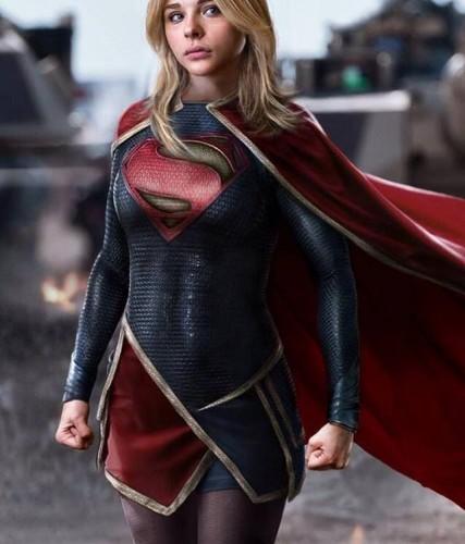 Chloe Moretz Supergirl