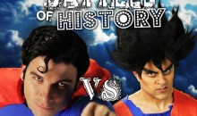 Goku vs. Superman in Epic Rap Battles of History