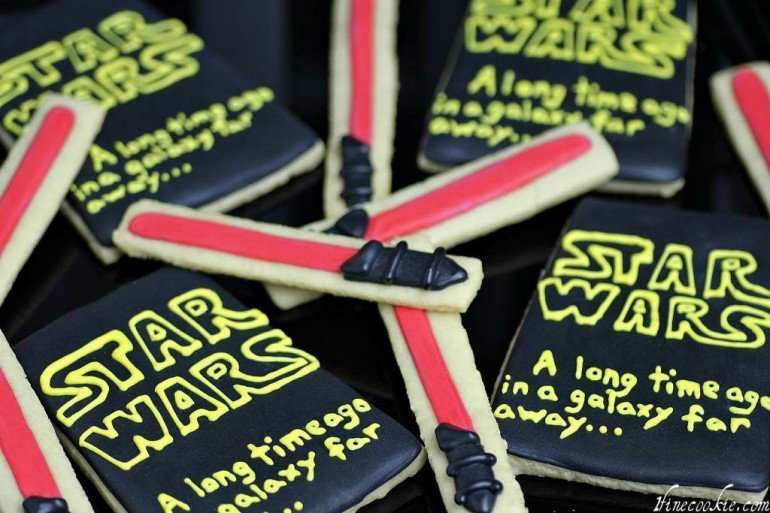 Star Wars Decorated Cookies