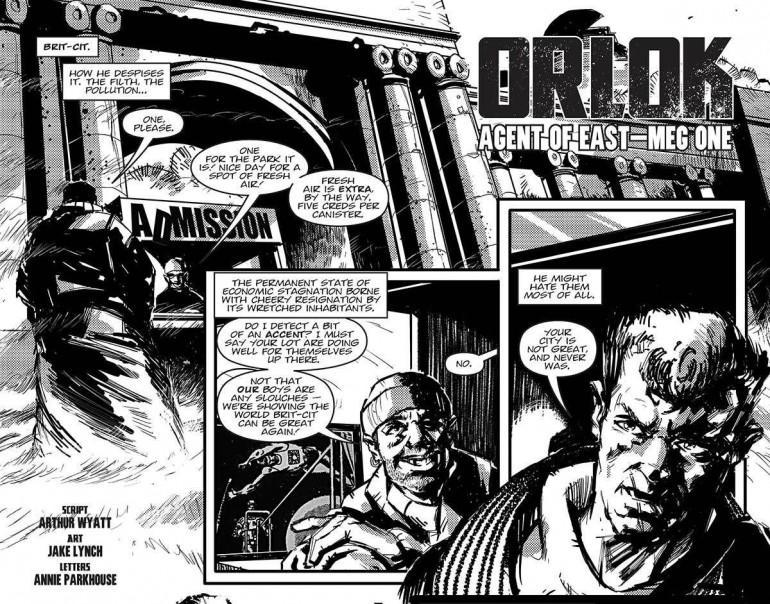 An Exclusive Interview with 2000AD Writing Droid Arthur Wyatt