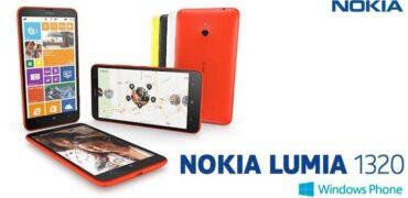 Nokia Lumia 1320 - Header