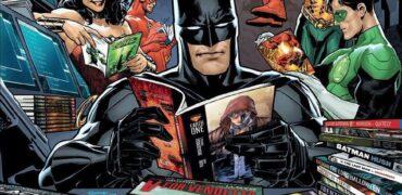 batman reading comics