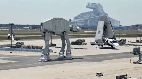 Fake Star Wars Episode VII Leaked Set Footage