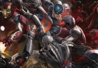 San Diego Comic-Con Avengers Poster