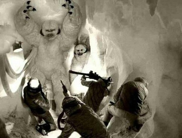 Empire Strikes Back Deleted Wampa Scene