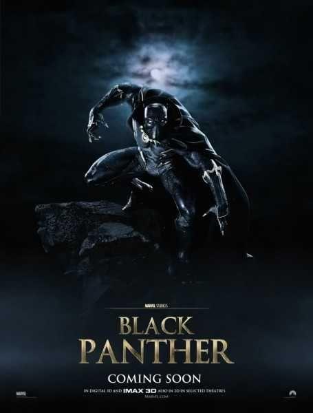 black panther poster fan art