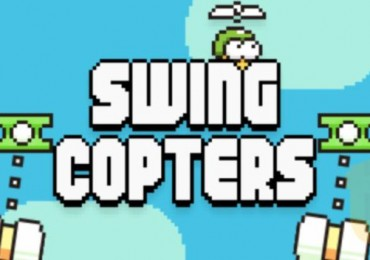 From the creator of Flappy Bird comes Swing Copters