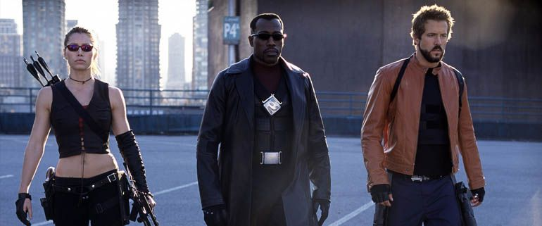 Three bankable actors. What's wrong with this picture? Blade: Trinity underutilized its heros and villains to create a sloppy vampire flick. The ideas had so much potential but never lived up to its predecessors.
