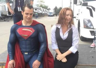superman ice bucket challenge
