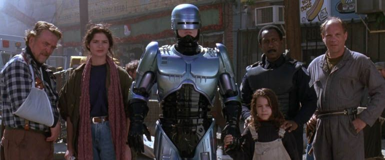 Honestly, Robocop 3 is nothing more than a really long toy commercial.