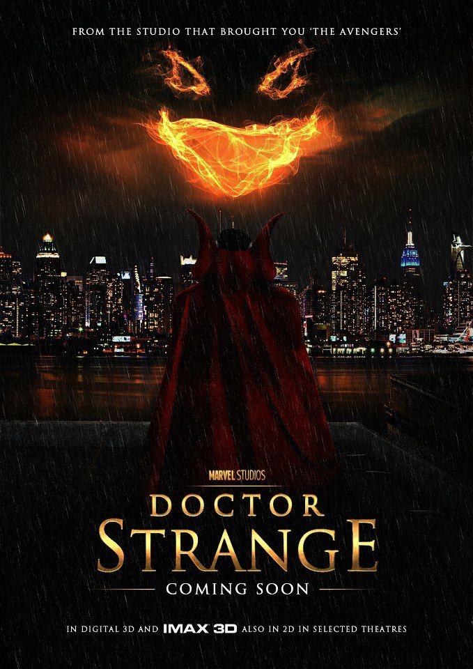 dr strange poster fan art