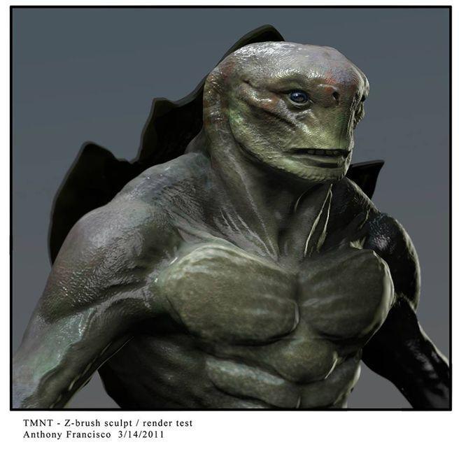 Is This What The Teenage Mutant Ninja Turtles Almost Looked Like?