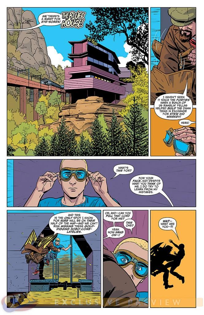 Delinquents #2 comic Review