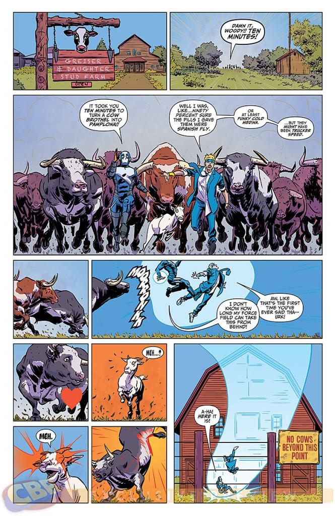 Delinquents #2 comic book Review
