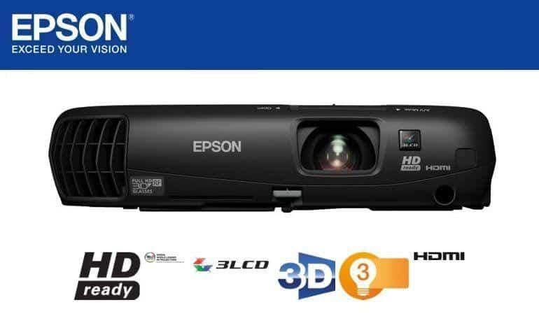 Epson TW550 Projector-Header