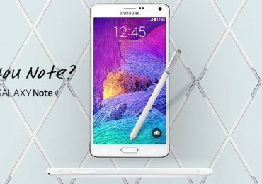 Samsung Announces the Galaxy Note 4-Header