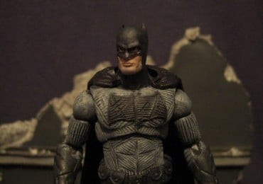 custom ben affleck batman v superman figurine