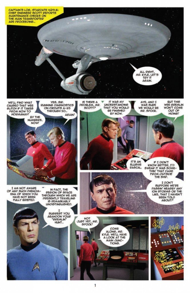 IDW Star Trek New Visions #1 The Mirror Cracked page 1