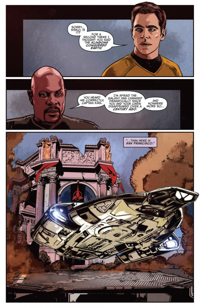 IDW Star Trek (nuTrek ongoing) #37 The Q Gambit part 3 page 1