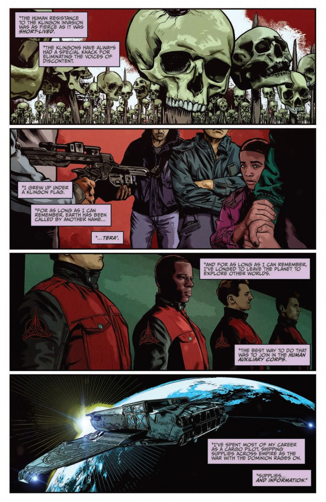 IDW Star Trek (nuTrek ongoing) #37 The Q Gambit part 3 page 4