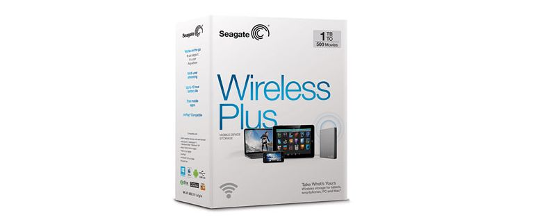 Seagate Wireless Plus 2TB - 01