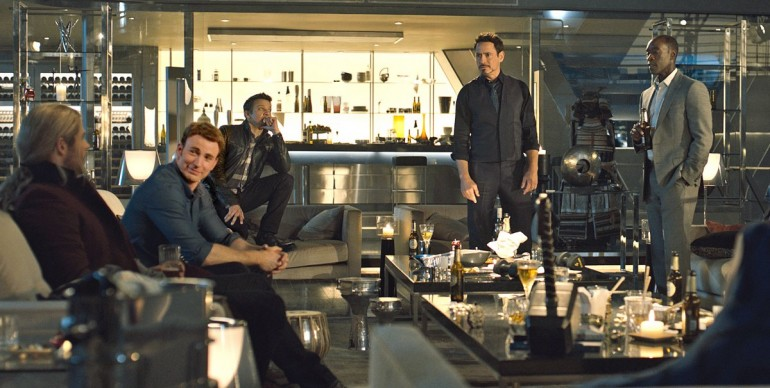 Watch The Avengers Try To Lift Thor's Hammer In New Age Of Ultron Clip