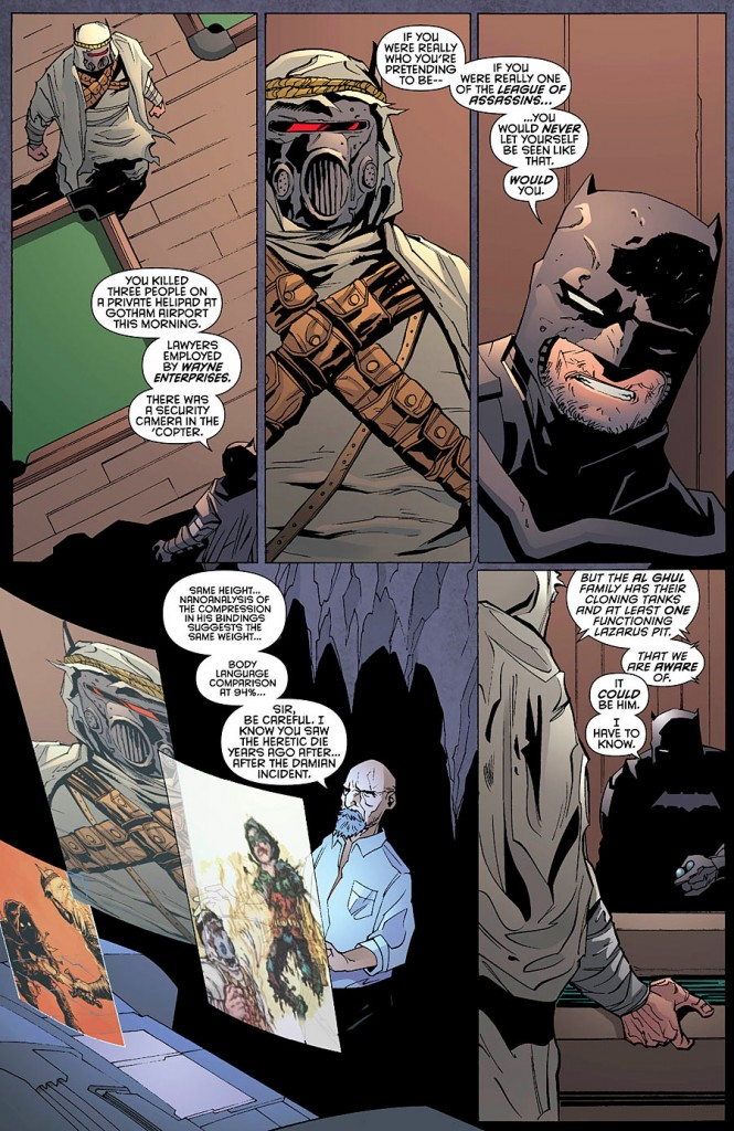 batman and Robin Futures End #1 comic Review