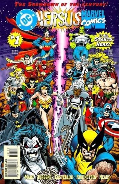 DC Comic Book Battles